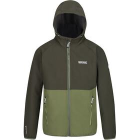Regatta Arec II Softshell Jacket Men, bayleaf/cypress